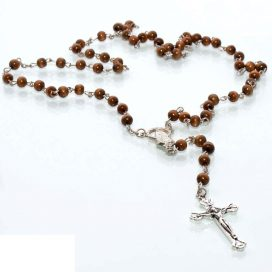 Rebel Rosary Necklace