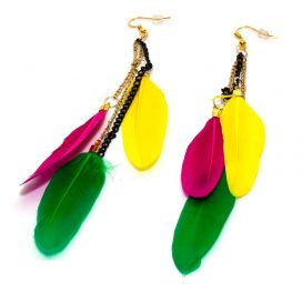 Womens feather Earrings