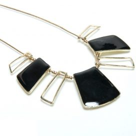 Geometrical womens necklace