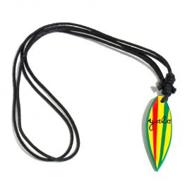 Rebel surfboard necklace