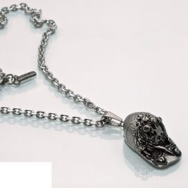 Baseball Cap pendant and chain