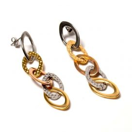 Women's hanging earrings
