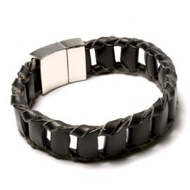 Wide Leather Bracelets