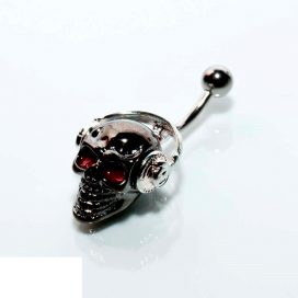 Headphone-skull Navel Bananabell