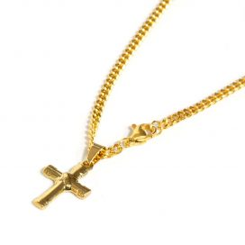 Cross pendant and chain