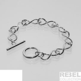 925 Silver plated womens bracelet