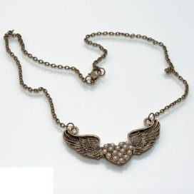 Vintage Wings Necklace