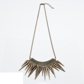 Out of spike -necklace
